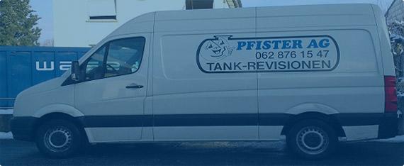 Fahrzeug Pfister Tankrevision (Kontakt Seite)