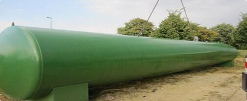 Erdverlegte Tankanlagen